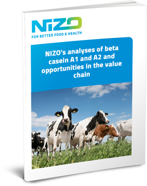 NIZOs analyses of beta casein A1 and A2 and opportunities in the value chain cover