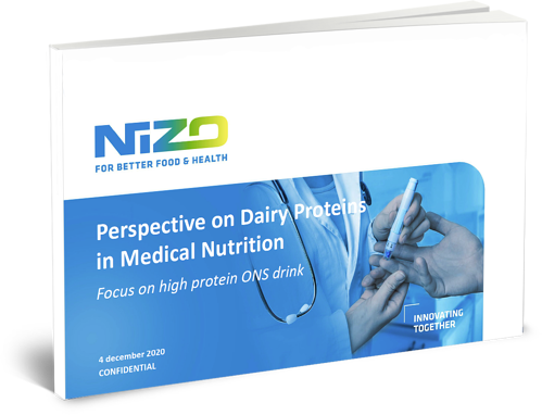 Presentation - Perspectives on dairy protein application in medical nutrition - cover