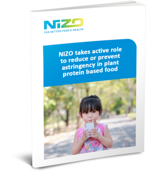 Nizo takes active role to reduce or prevent astringency