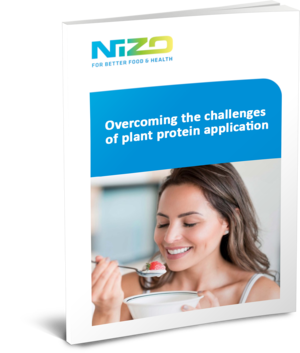 Overcoming the challenges of plant protein application